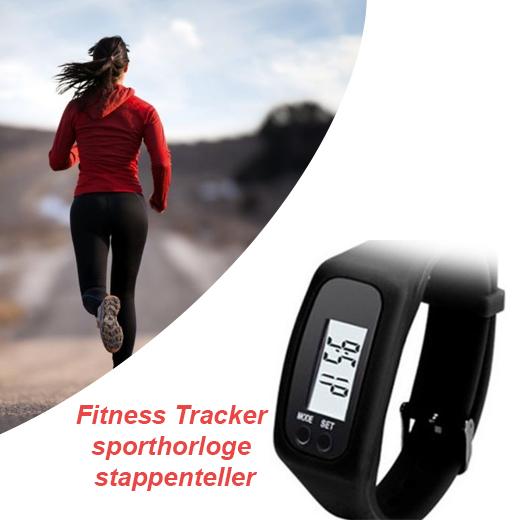 Fitness Tracker - sporthorloge - stappenteller