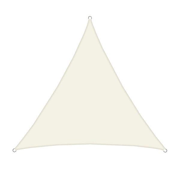 Schaduwdoek 4 X 6.Luxe Schaduwdoek Zonnezeil Driehoek 3 6 Meter