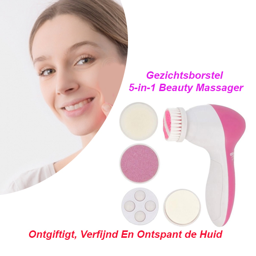 Gezichtsborstel 5 in 1 Beauty Massager