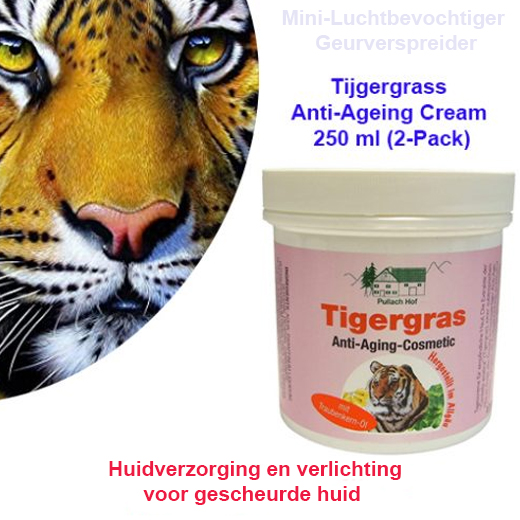 2-Pack Tijgergrass Anti-Ageing Cream 250 ml